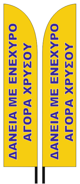 PROMOTIONAL STORE FLAGS 70x340cm