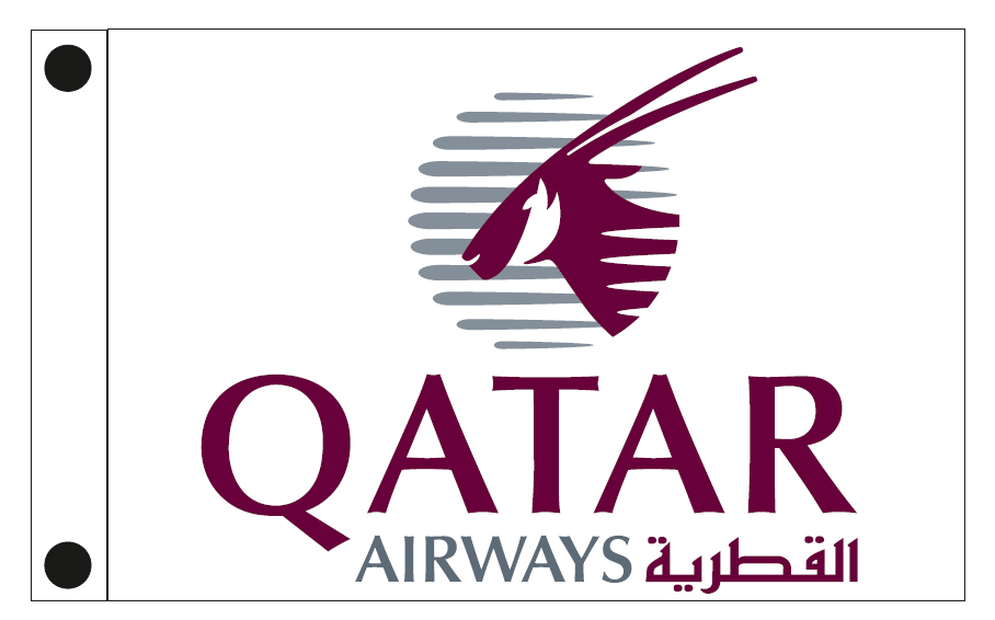 Company flag of QATAR AIRWAYS